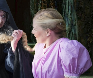 Witch and rapunzel A